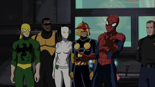كارتون مرد عنكبوتي نهايي - ultimate spiderman