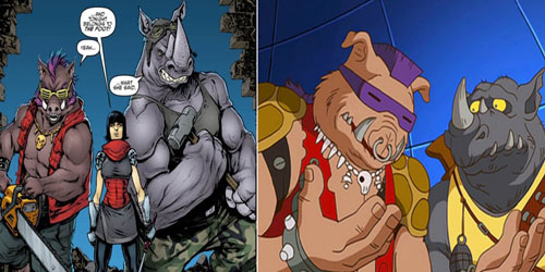 بی باپ و راک استدی (Bebop and Rocksteady)