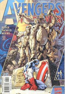 کمیک avengers