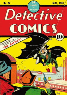detective comics-batman first comic-batman #27-اولین کمیک بتمن