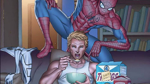 مرد عنکبوتی و هیومن تورچ