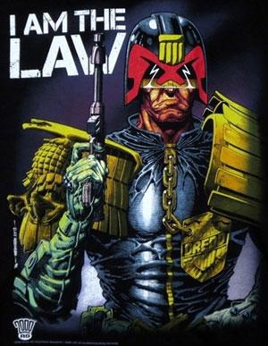 قاضی درد (Judge Dredd)