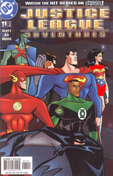 JUSTICE LEAGUE ADVENTURES كميك