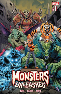 تهاجم هیولاها (Monsters Unleashed)