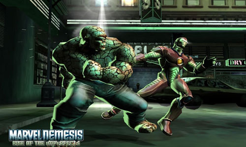 بازی MARVEL NEMESIS: RISE OF THE IMPERFECTS