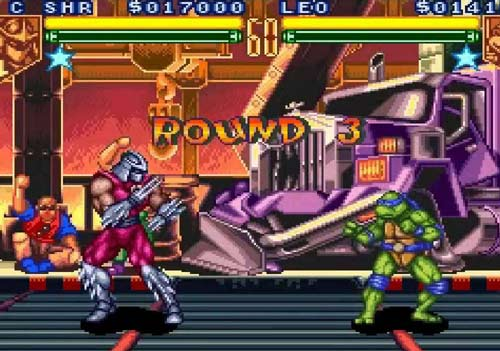 بازی Teenage Mutant Ninja Turtles: Tournament Fighters
