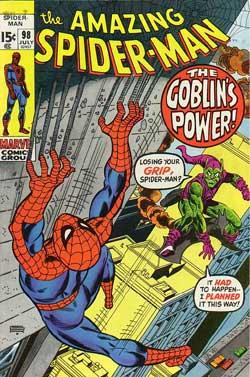 شماره 98 كمیك مرد عنكبوتی شگفت انگیز