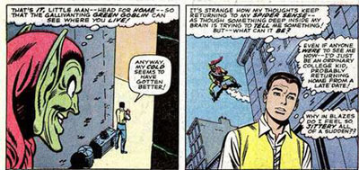 هویت مرد عنکبوتی