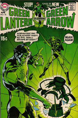 كمیك Green Lantern/Green Arrow