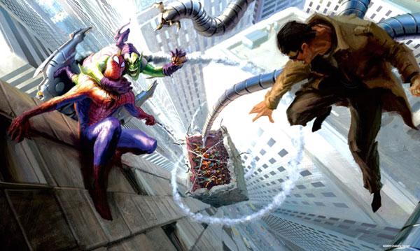 دن اسلات: دکتر اختاپوس بزرگترین دشمن مرد عنکبوتی است!