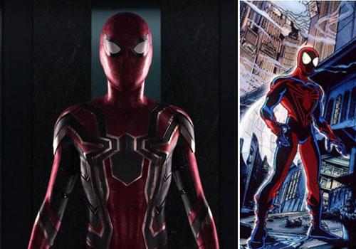 لباس اهنی مرد عنکبوتی