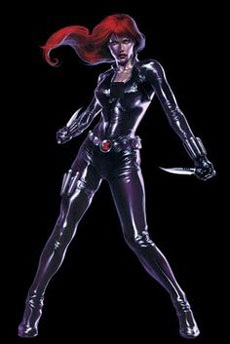 عكس black widow