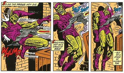 green goblin is killed