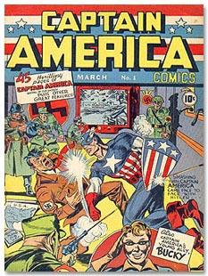 اولین کمیک کاپیتان امریکا