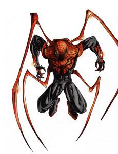 لباس superior spiderman