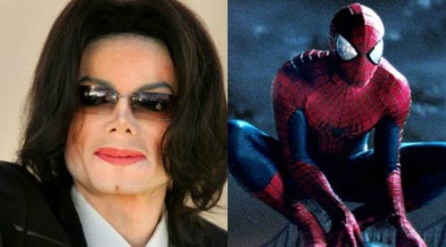 مایکل جکسون - مرد عنکبوتی