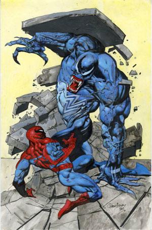 کمیکی که قرار بود «گرنت موریسون» برای مرد عنکبوتی بنویسد