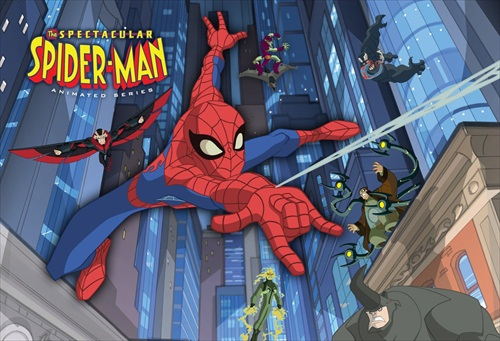 کارتون Spectacular Spider-Man