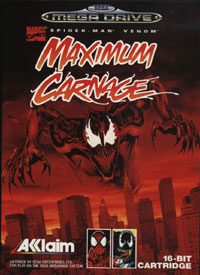 بازی  Spider-Man & Venom: Maximum Carnage