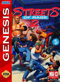 بازی  Streets of Rage II