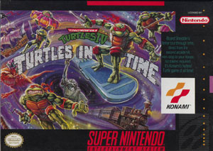 بازی Teenage Mutant Ninja Turtles: Turtles in Time