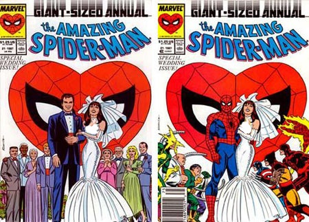 عروسی مرد عنکبوتی