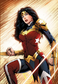 کمیک wonder woman new 52