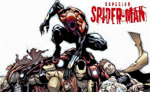 عكس superior spiderman